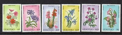 Lesotho MNH 1985 Flowers