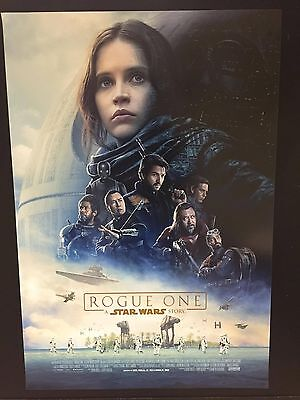 Rogue One (2016) poster film cm. 70x100 Prima edizione Originale