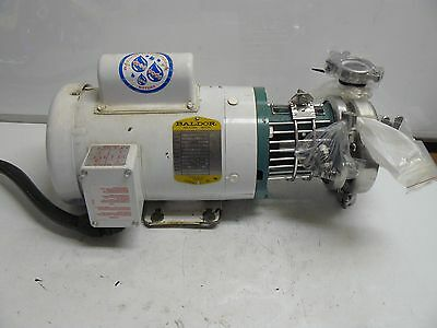 Tri-Clover C114Mdg56T-S Centrifugal Pump With Baldor Cwdl3513 Motor 1 1/2 Hp