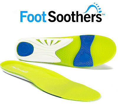 FootSoothers® Orthotic Gel Insoles Shoe Inserts Pads Scorpion Sports Football