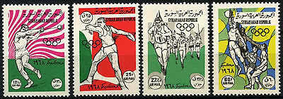 Syria 1968 SG#1018-21 Olympic Games MNH Set #D33924