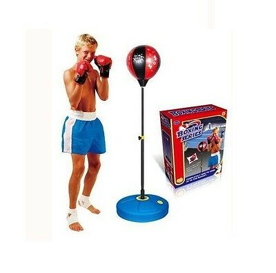 Childrens Punch Ball And Boxing Gloves