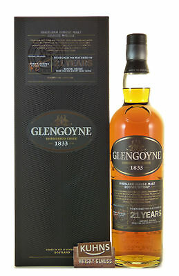 Glengoyne 21 Jahre Highland Single Malt Scotch Whisky 0,7l, alc. 43%