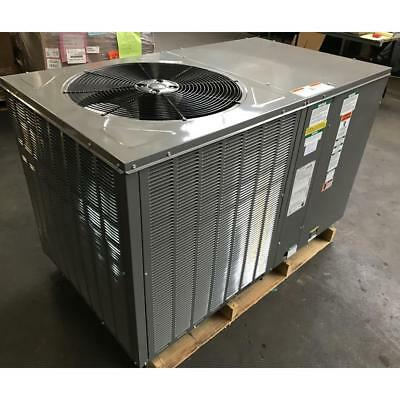 Rheem Rqpm-A048Ck000 4 Ton Horiz Rooftop Heat Pump Air Conditioner R-410A