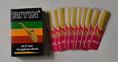 1 box Alto Saxophone Reeds reed NEW size #1.5  NEW