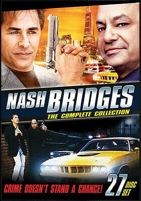 Nash Bridges: The Complete Collection [New DVD] Amaray Case