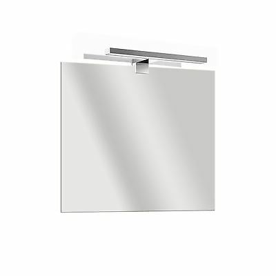Specchio LED specchiera da arredo reversibile 5 mm con luce applique inclusa