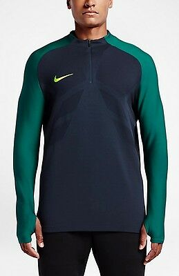 b1ba67dd Nike Strike Aeroswift Men's 1/4 Soccer Drill Top Obsidian (M L 2XL) 807034