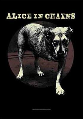"""ALICE IN CHAINS  Flag/ Tapestry/ Fabric Poster   """"Grin""""   NEW"""