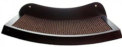 Cat Shelf Modern Curved Wood Wall Mounted Perch - An Elevated Cat Bed Your Cat
