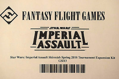 Fantasy Flight Game Star Wars Imperial Assault 2016 Spring Tournament Kit Sealed