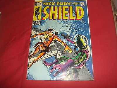 NICK FURY, AGENT OF S.H.I.E.L.D. #11 Silver Age Marvel Comics 1969 FN+