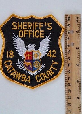 North Carolina - Catawba County Sheriff's Office Embroidered Shoulder Patch