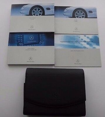 Mercedes SL Owners Handbook/Manual Pack with Wallet 2002-2006