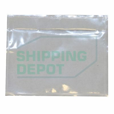 "3000 Clear Packing List Envelopes Pouch 4.5x5.5 2.5mil 4.5""x5.5"" Secure Seal"