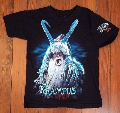 Rare Official Krampus Movie Promo T-Shirt - Christmas Horror Bell Universal