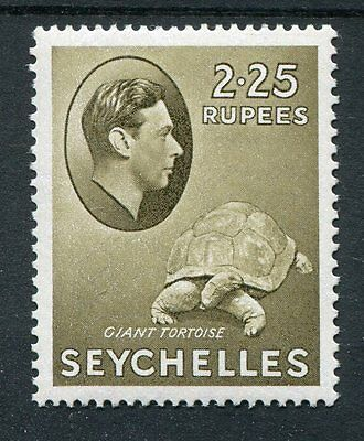 Seychelles KGVI 1938-49 2r25 olive SG148a ord paper MNH