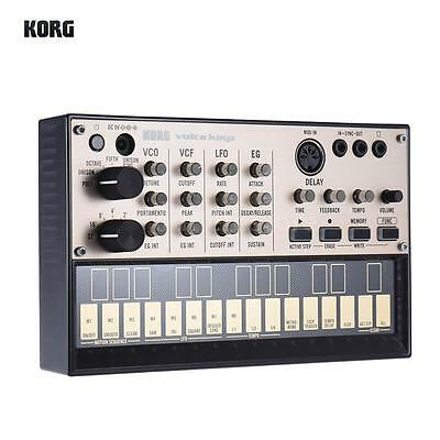 KORG VOLCA KEYS Synthesizer with MIDI Analog Delay Effect Loop High Quality E7X9
