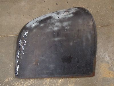 1946 1947 1948 Chevy Front Fender Door Extensions Right Hand Passenger Side