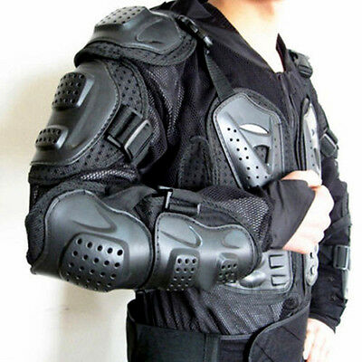 Motorcycle Full Body Armour Jacket Spine Chest Protective Gear S/M/L/XL/XXLXXXL