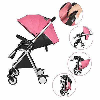 LIGHTWEIGHT BABY STROLLER BESREY - Travel System Baby Pram Pushchair