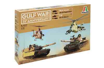 Italeri 1/72 Gulf War 25th Anniversary Box Plastic Model Set 6117