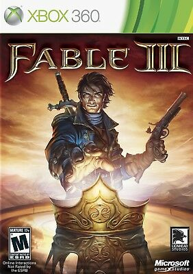 Fable III (Microsoft Xbox 360, 2010) Brand New+Factory Sealed