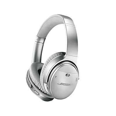 Bose QC35 Quiet Comfort Noise Cancelling Wireless Headphones Silver