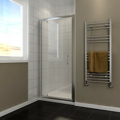 Large Pivot Shower Door Hinge Enclosure Glass Screen 300mm in-line panel