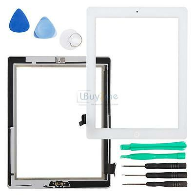 Outer Glass Lens Digitizer Touch Screen for White iPad 2nd Gen A1395 A1396 A1397