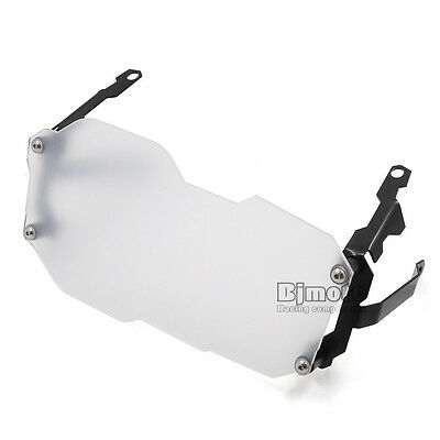 Front Headlight Protector Cover For BMW R1200GS Adventure 2014 2015 2016 Clear
