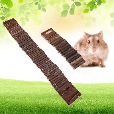 Blendable Climbing Swing Gerbil Hamster Chew Toys Suspension Ladder Bridge Stair