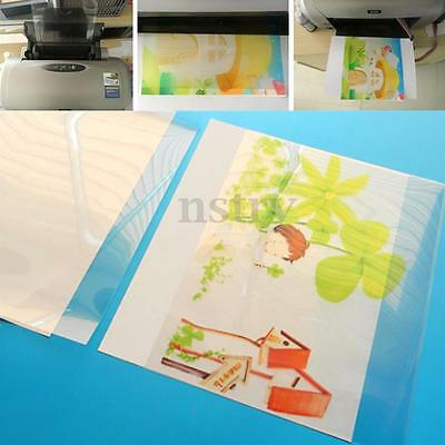 20 Sheet A4 Screen Printing Transparent Inkjet Film Paper Print Stencil Design