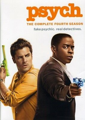 Psych: The Complete Fourth Season [New DVD] Ac-3/Dolby Digital, Dolby, Repacka