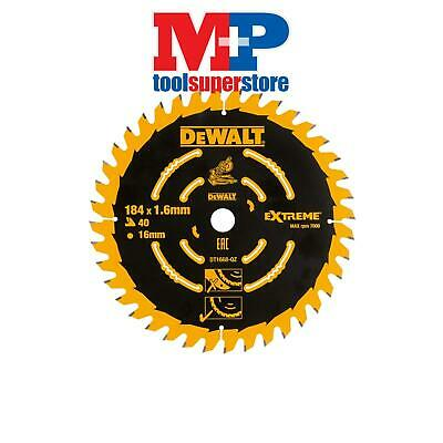 Dewalt Dt1668 Extreme Cordless Mitre Saw Blade 184Mm 40 Tooth Dcs365