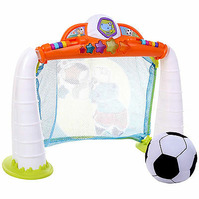 New Chicco Fit & Fun Goal League Soccer Trainer / Baby Football Net & Soft Ball