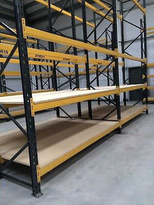 LINK XL  RACKING - 20 X Frames @ 2500mm X 900mm with 40 pairs of beams @ 2250mm