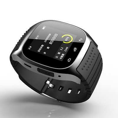 New Bluetooth Smart Watch For Android HTC Samsung iPhone iOS + Camera SIM Slot