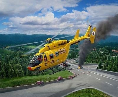 Revell Plastic Model Kit - BK117 ADAC Helicopter - 1:72 Scale - 04953 - New