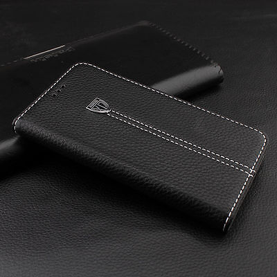 Luxury Magnetic Flip Cover Wallet Leather Case for Apple iPhone 5 6 7 & Samsung