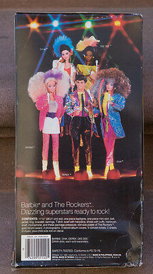 BARBIE AND THE ROCKERS Doll MIB #1140 (3392)