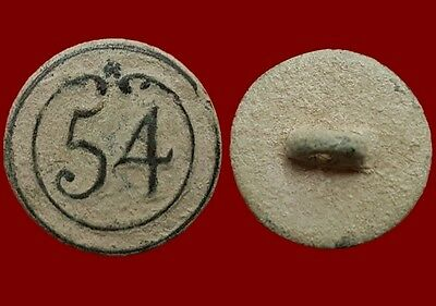 *Prados* Button 54 th line Infantry French army, Napoleonic wars, 17 mm