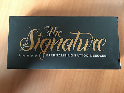 50pcs THE SIGNATURE 3 ROUND LINER AGHI TATTOO NEEDLES SGNRL.LT.035.3 EXP.03.2018