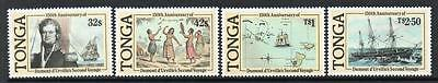 Tonga MNH 1987 The 150th Anniversary of the Second Voyage