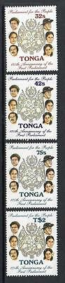 Tonga MNH 1987 The 125th Anniversary of First Parliament