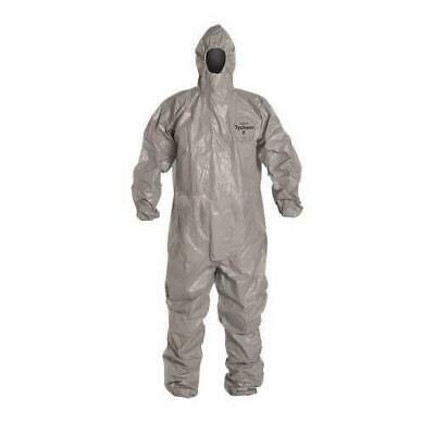 Case of 6 C2 127 TGY 000600 Dupont Tychem CPF 2 Coverall Gray Size Large