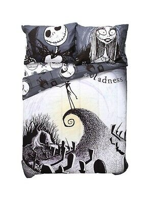 The Nightmare Before Christmas Moonlight Madness Jack Full/Queen Comforter