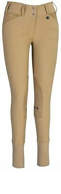 EQUINE COUTURE Sportif Breeches Tan 26 SALE