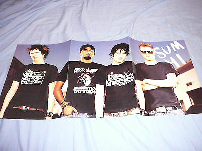SUM 41 - 11 x 23 POSTER CLIPPING