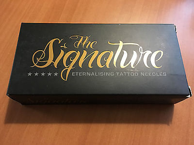 50pcs THE SIGNATURE 8 ROUND SHADER AGHI TATTOO NEEDLES SGNRS.MT.035.8 EX.05.2017